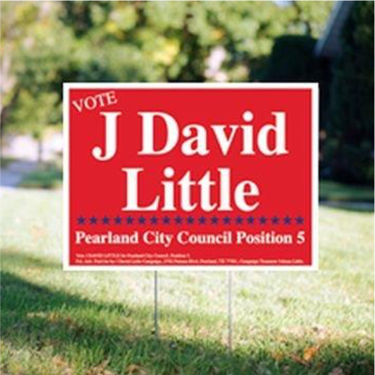 "<h4 style=""text-align: center;"">Yard Signs With H-Stake Frame</h4>"